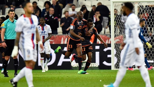 Lyon 1-4 Lorient maçı özeti ve golleri (İZLE)