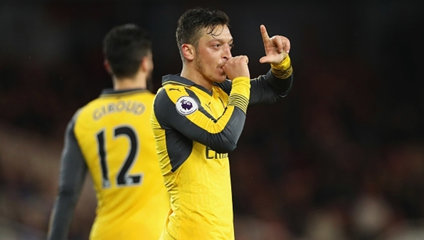 Middlesbrough 1-2 Arsenal maç özeti ve golleri
