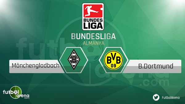 Mönchengladbach - Borussia Dortmund maçı saat kaçta, hangi kanalda? (CANLI İZLE)