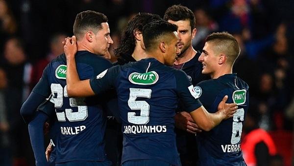 PSG 5-0 Monaco maçı özeti ve golleri