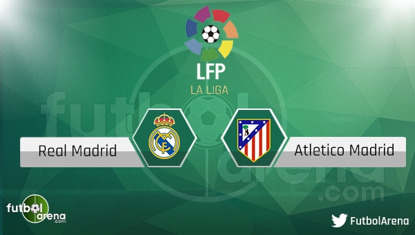Real Madrid - Atletico Madrid maçı saat kaçta, hangi kanalda? (Real Madrid Atletico Madrid şifresiz canlı nasıl izlerim?)