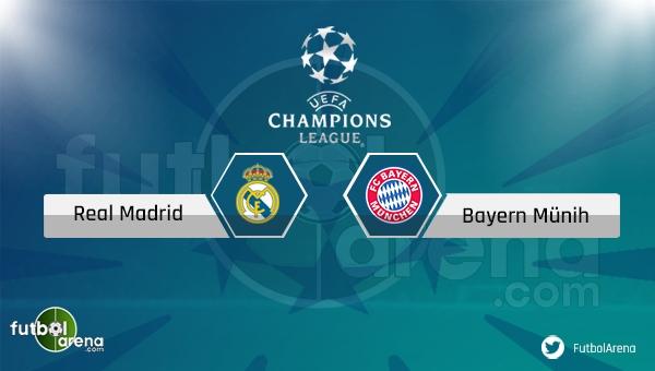 Real Madrid Bayern Münih maçı saat kaçta, hangi kanalda? - Canlı İzle