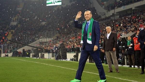 Recep Tayyip Erdoğan'dan Timsah Arena teklifi