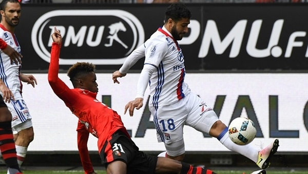 Rennes 1-1 Lyon maçı özeti ve golleri (İZLE)