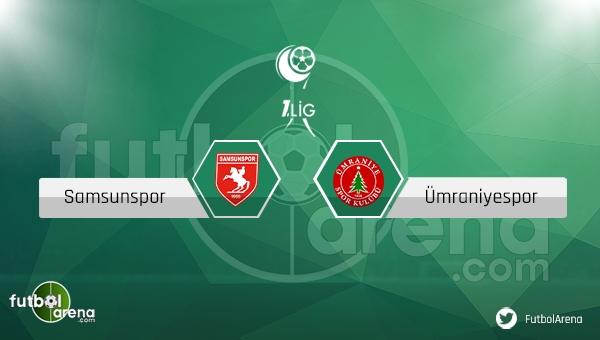 Samsunspor - Ümraniyespor maçı saat kaçta, hangi kanalda? (CANLI İZLE)