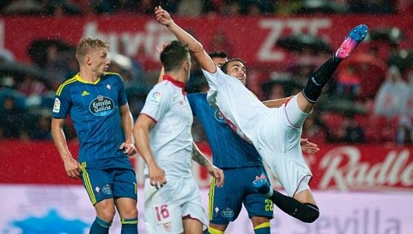 Sevilla 2-1 Celta Vigo maçı özeti ve golleri (İZLE)