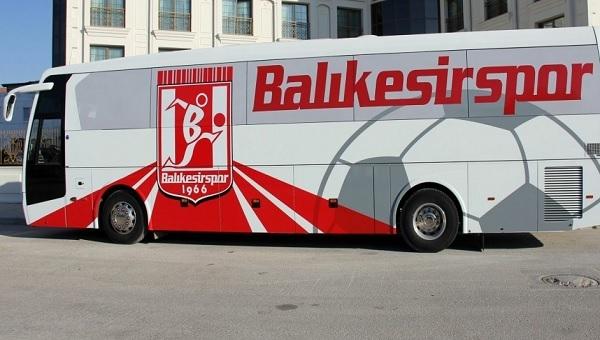 Skandal! Takım otobüsüne el koydular! - Balıkesirspor Haberleri