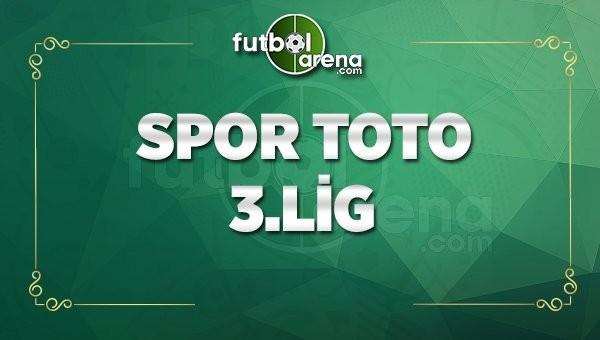 Spor Toto 3. Lig 1. Grup İddaa maç sonuçları - 14 Nisan Cuma 2017