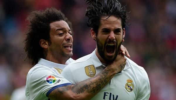Sporting Gijon 2-3 Real Madrid maçı özeti ve golleri (İZLE)