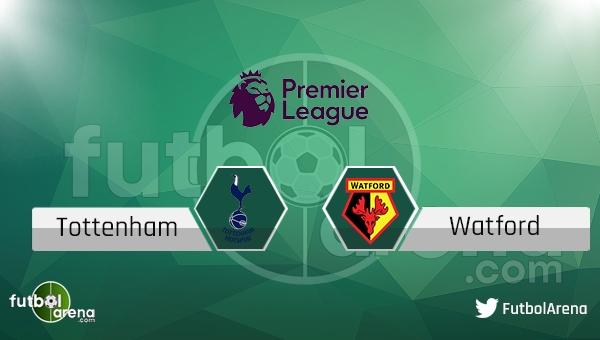Tottenham Watford maçı saat kaçta, hangi kanalda? (Canlı skor İddaa)