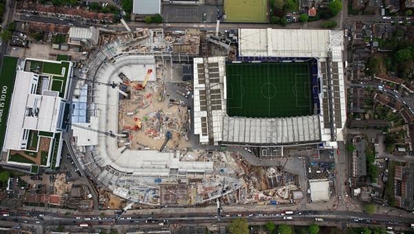Tottenham yeni stada taşınıyor!