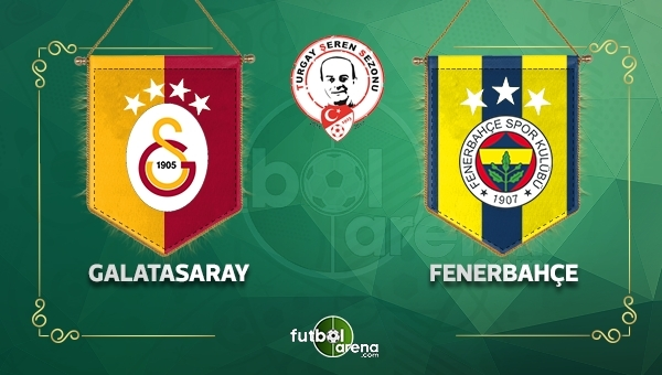 Galatasaray 0-2 Fenerbahçe maç özeti ve golleri