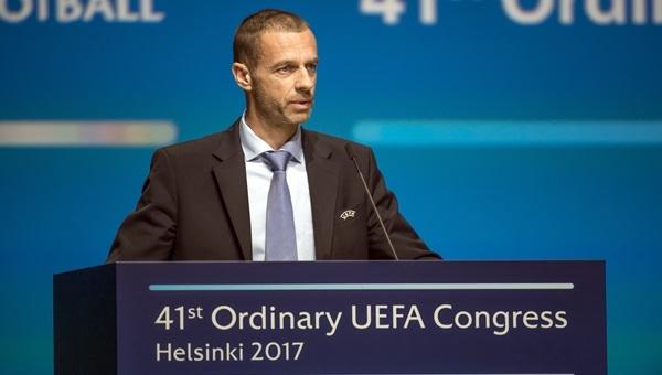 UEFA Başkanı Ceferin'den Süper Lig açıklaması