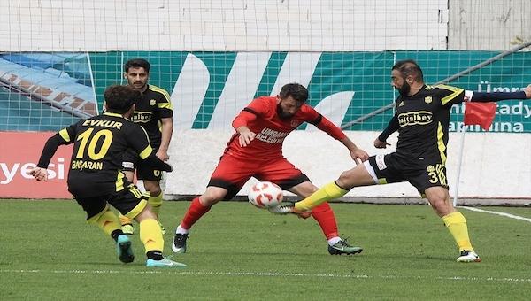 Ümraniyespor 1 - 0 Yeni Malatyaspor maç özeti ve golleri