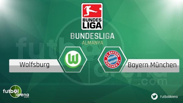 Wolfsburg - Bayern Münih maçı saat kaçta, hangi kanalda? (CANLI İZLE)