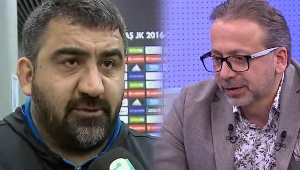 Zeki Uzundurukan'dan canlı yayında Ümit Özat'a sert sözler