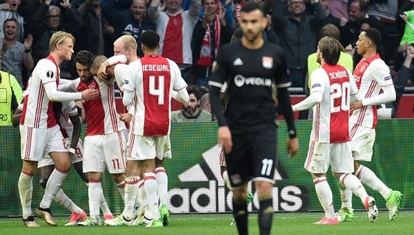Ajax 4-1 Lyon maçı özeti ve golleri (İZLE)
