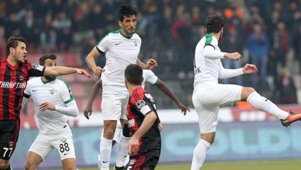 Akhisar Belediyespor - Gaziantepspor maçı sakat ve cezalı futbolcular