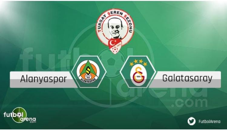 Alanya Galatasaray maçı sakat ve cezalı oyuncular
