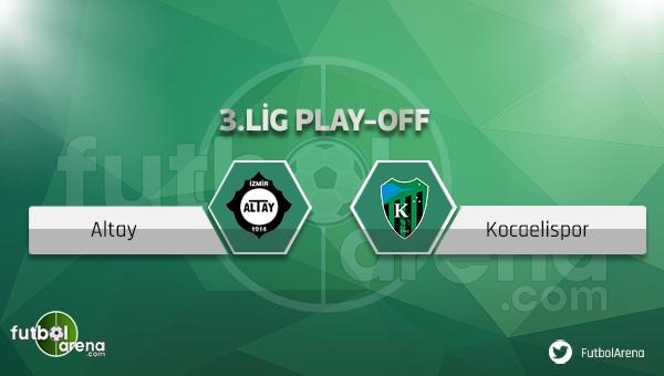 Altay - Kocaeli maçı ne zaman, nerede oynanacak?