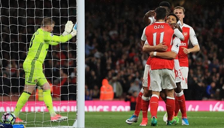 Arsenal - Sunderland maçı özeti ve golleri (İZLE)
