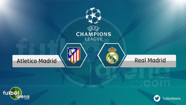 Atletico Madrid - Real Madrid maçı saat kaçta, hangi kanalda? Şifresiz izle