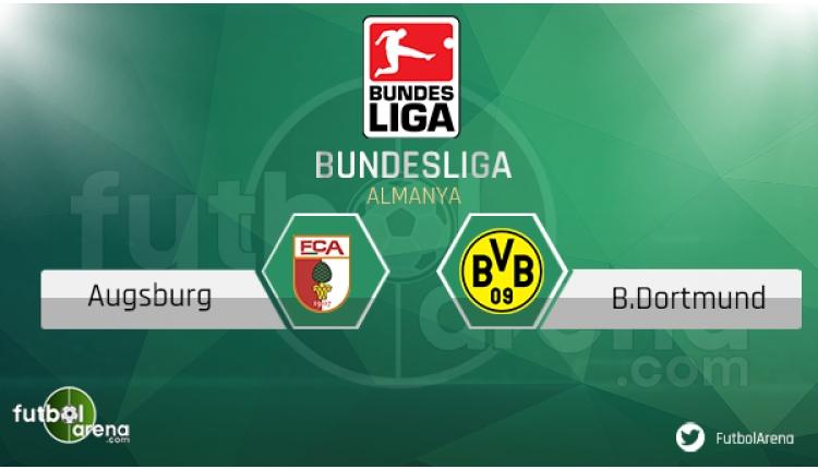 Augsburg - Dortmund hangi kanalda, saat kaçta? (CANLI İZLE)