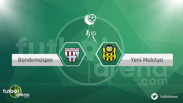 Bandırmaspor Yeni Malatyaspor maçı saat kaçta, hangi kanalda? - CANLI İZLE