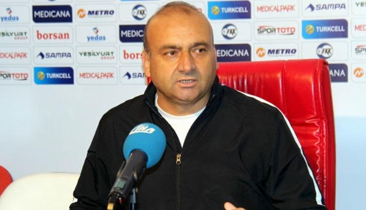 Bandırmaspor'da Musafa Uğur'dan hakem Halis Özkahya'ya olay sözler