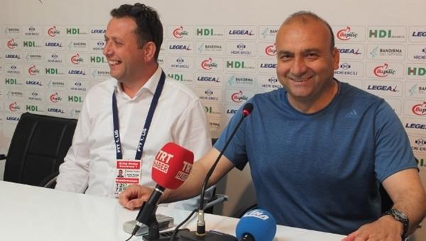 Bandırmaspor'da Mustafa Uğur'un Yeni Malatyaspor maçı sevinci