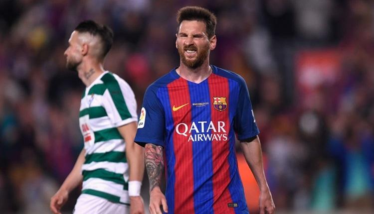 Barcelonalı futbolcu Messi'nin itirazı reddedildi
