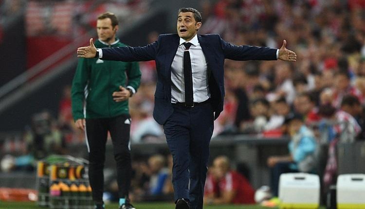 Barcelona'nın yeni teknik direktörü Valverde oldu