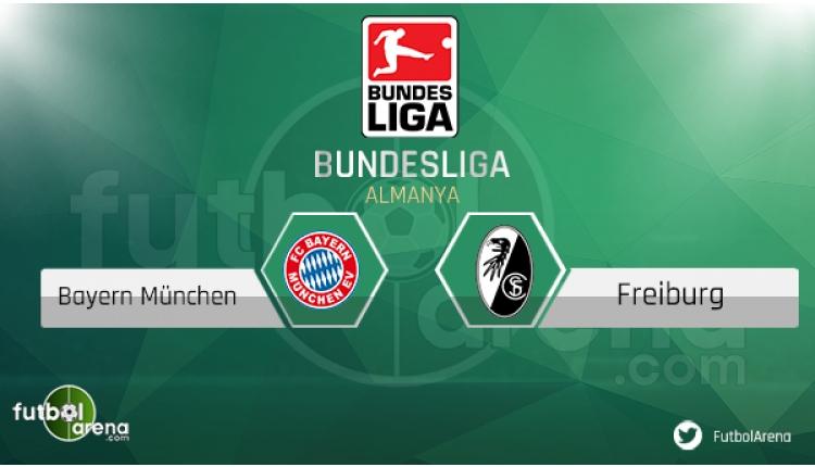 Bayern Munih Freiburg saat kaçta, hangi kanalda? (CANLI)