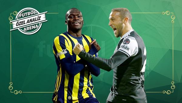 Beşiktaş erken, Fenerbahçe geç gol atıyor