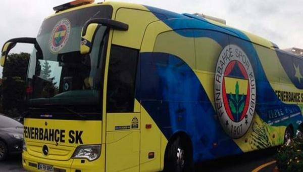 Beşiktaş - Fenerbahçe derbisi sonrası otobüs krizi