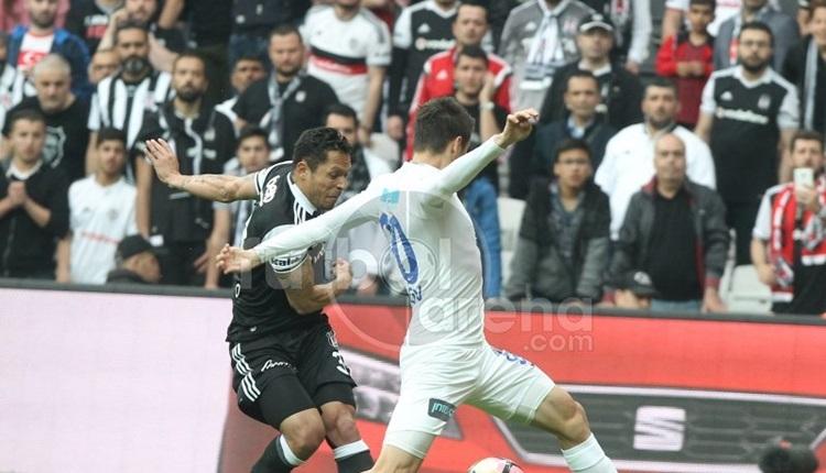 Beşiktaşlı taraftarlar Kasımpaşa maçına akın etti