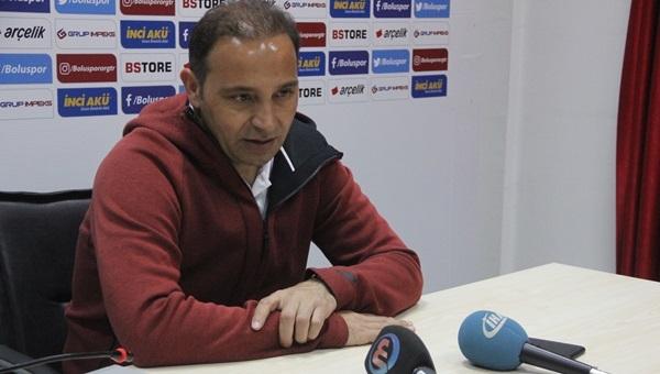 Boluspor Teknik Direktörü Fuat Çapa: 'Zoru seviyoruz'