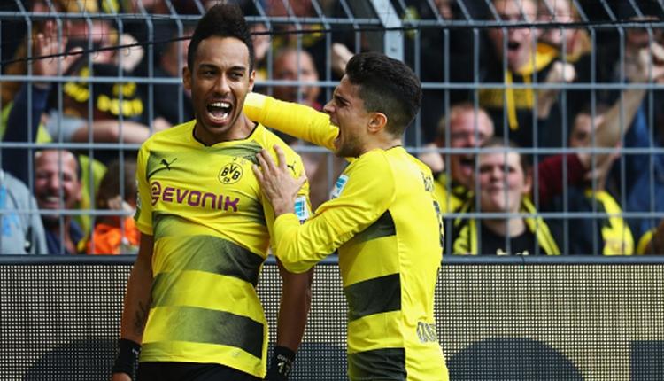 Borussia Dortmund'da Aubameyang'tan kariyer rekoru