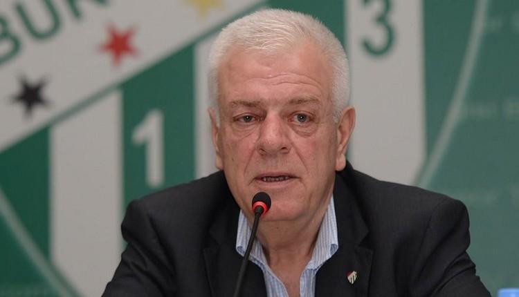 Bursaspor'da Ali Ay'dan Aziz Yıldırım'a yanıt