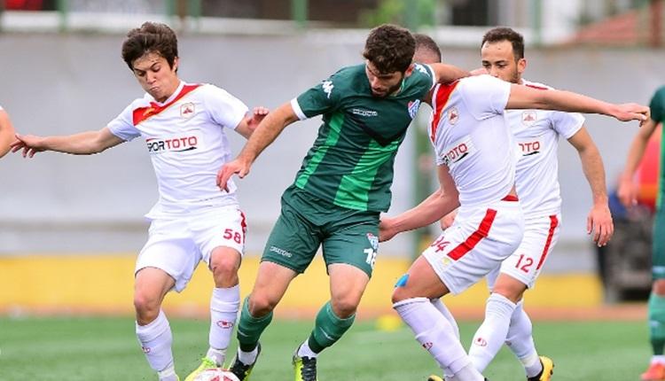 Çatalcaspor 1-0 Erbaaspor maç özeti ve golleri