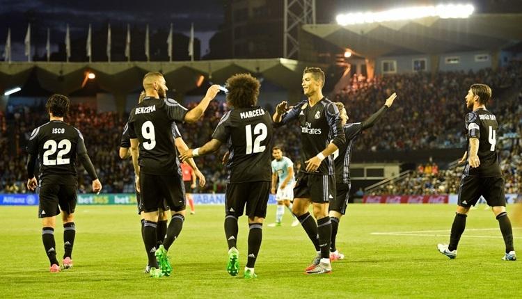 Celta Vigo 1-4 Real Madrid maçı özeti ve golleri (İZLE)