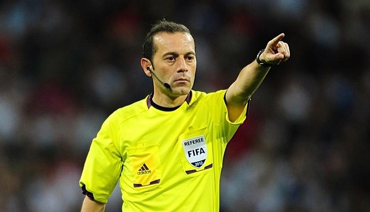 Cüneyt Çakır'a Dünya Kupası'nda görev