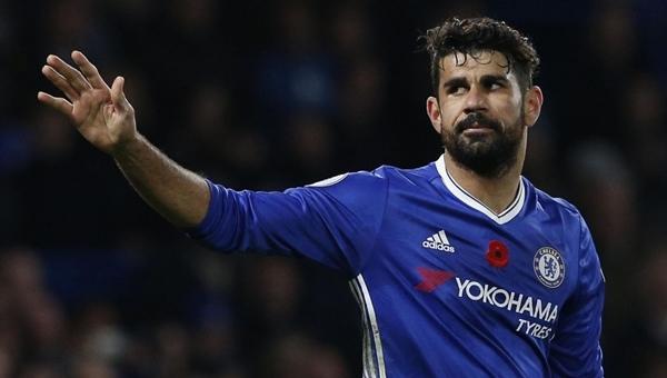 Diego Costa, Çin Ligi'ne transfer oluyor