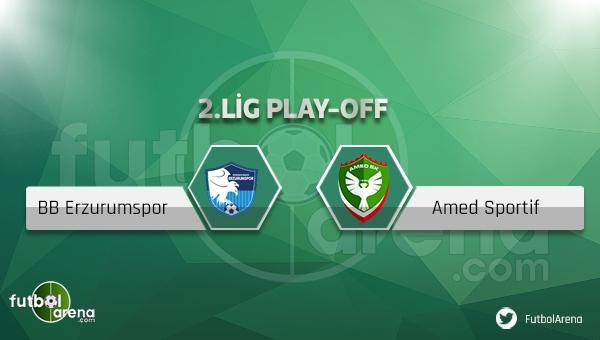 BB Erzurumspor - Amed maçı ne zaman, nerede oynanacak?