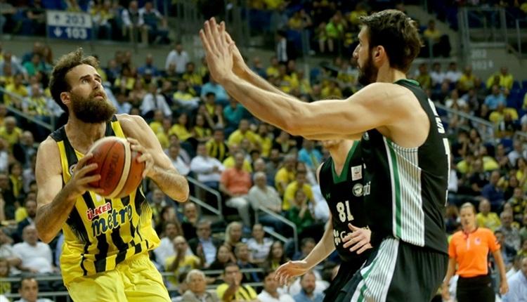 Fenerbahçe - Darüşşafaka Doğuş play-off maç sonucu