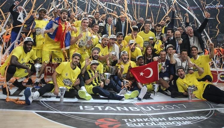 Fenerbahçe, Euroleague şampiyonu oldu!