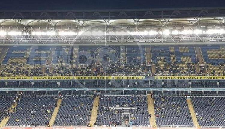 Fenerbahçe - Medipol Başakşehir Ülker Stadı'nda yine aynı görüntü