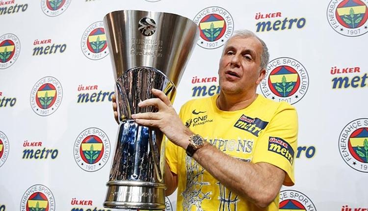 Fenerbahçe - Trabzonspor maçında Obradovic tezahüratı