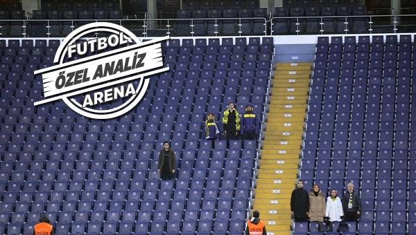 Fenerbahçe tribünleri bomboş kaldı! 3 senedir tribünler dolmuyor