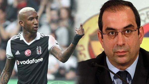 Fenerbahçe yöneticisi Şekip Mosturoğlu'dan Talisca göndermesi